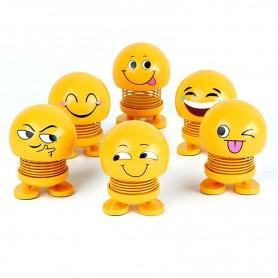 Spring Shaking Head Emoji Dolls