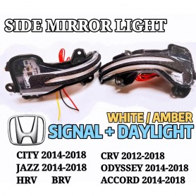 HONDA SIDE MIRROR  LIGHT  WITH RUNNING SIGNAL
