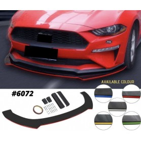 Universal Color Front Bumper Lip Diffuser Lips Skirt