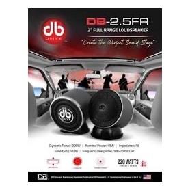 DB DRIVE 25FR2 2.5 FULL RANGE SPEAKER