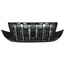 Perodua ARUZ Front Bumper Grille Replacement Venom Grill V2 With Airflow (CARBON)