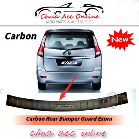 Carbon Rear Bumper Guard