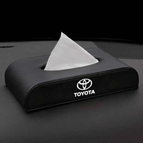 Leather Car Tissue Box Holder FOR Proton Perodua Honda Toyota