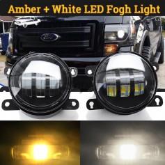 3.5 INCH WHITE/AMBER LED FOG LAMP