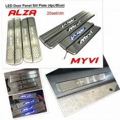 Led Side Sill Pllate Myvi