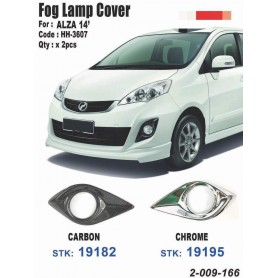 Fog Lamp Chrome Cover Alza New