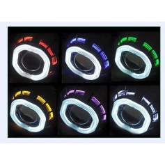 "Projector Head Lamp Bm Ring 4.8"""