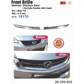 Alza Fromt Grill Chrome Cover
