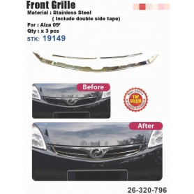 Alza Old  Front Grill Chrome Cover