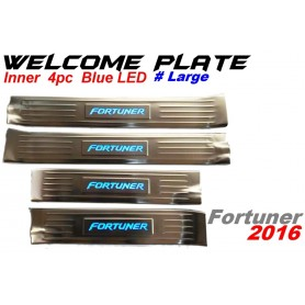 Welcome Plate Inner Fortuner 2016