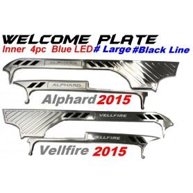 Welcome Plate Inner Black Line