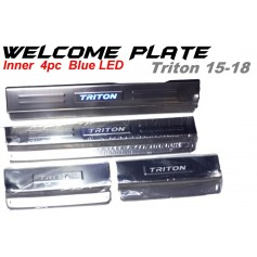 Welcome Plate Inner Triton 15-18