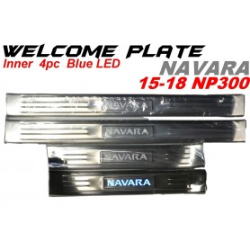 Welcome Plate Inner Navara 15-18