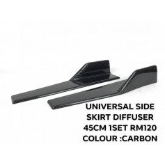 UNIVERSAL SIDE SKIRT DIFFUSER 45CM