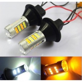 Dual Color DRL Reverse Turn Signal Lights