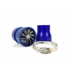 "SIMOTA Super Spiral Turbo Ventilator Twin Fan 2.5"" TurboJet Universal for All Air Filter Intake Pipe"