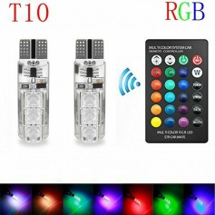 T10 RGB LED Bulb With Remote Controller