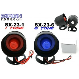 6 Tone Siren Horn for all car Alarm System