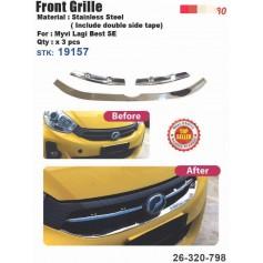 Myvi LAGI Best SE Front Grill Cover Chrome
