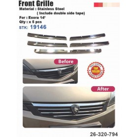 Exora Front Grill Chrome Cover