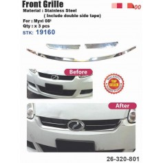 Myvi Old Front Grill Cover