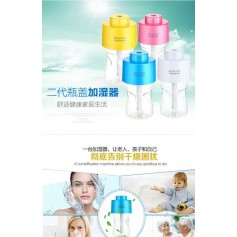USB Ultrasonic Air Humidifier With Colorful Led Light