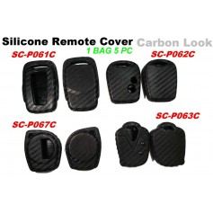 Silicone Key Cover Carbon