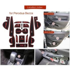Perodua Bezza Interior Slot Mat