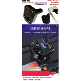 Car Charger Bluetooth Handsfree MP3 Player FM