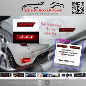 Perodua Myvi 2018 rear bumper reflector light bar