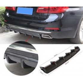 ABS Gloss Black Rear Bumper Diffuser
