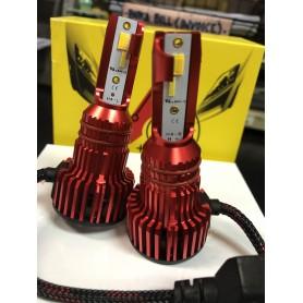 S6 Three Color Temperature Car Headlight Bulbs Lamp