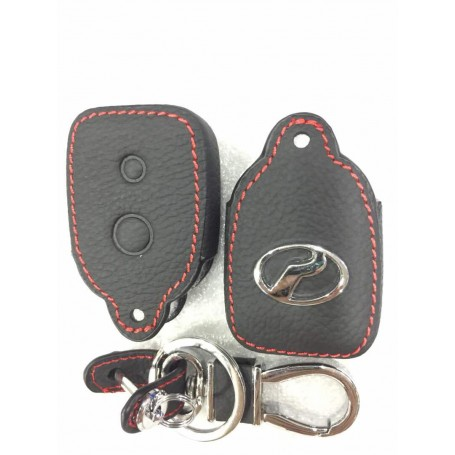 Leather Remote Key Case Cover - Perodua