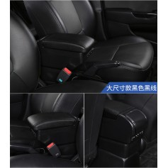 9 Usb Armrest Box Universal