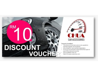 Welcome Voucher RM10